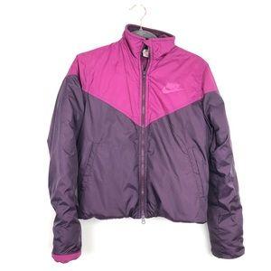 Nike Vintage Color Block Puffer Jacket